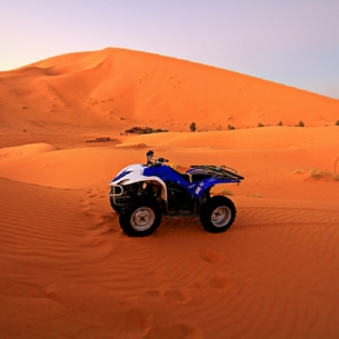 Quad Excursion in Merzouga - Adventure desert ride