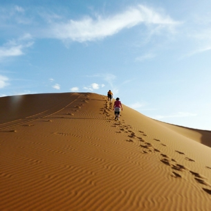Merzouga Desert Trekking - Hiking and walking in Erg Chebbi dunes